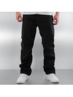 Carhartt WIP Straight Fit Jeans Chicago Texas schwarz