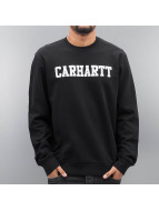 Carhartt WIP Swetry College czarny