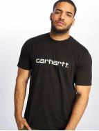 Carhartt WIP T-paidat Script musta