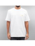 Carhartt WIP T-paidat Chase valkoinen