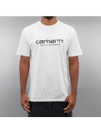 Carhartt WIP T-Shirt Wip Script blanc