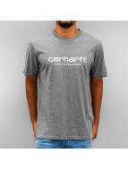 Carhartt WIP T-Shirt S/S Wip Script gris