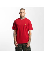 Carhartt WIP T-shirt Chase röd