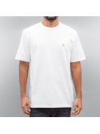 Carhartt WIP T-Shirts Chase beyaz