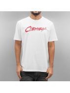 Carhartt WIP T-Shirts S/S Paint beyaz