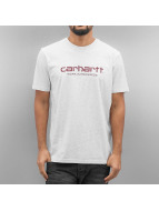 Carhartt WIP T-Shirts S/S Wip Script gri