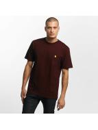 Carhartt WIP T-Shirts Chase kırmızı