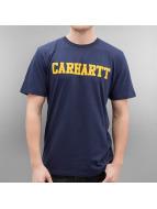 Carhartt WIP T-Shirty College niebieski