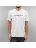 Carhartt WIP T-skjorter S/S Wip Script grå