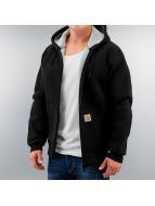 Carhartt WIP Välikausitakit Car-Lux Hooded musta