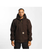 Carhartt WIP Winter Jacket Dearborn Canvas Active brown