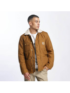 Carhartt WIP Winter Jacket Patterson Canvas Phoenix brown