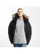 Carhartt WIP Winterjacke Trapper schwarz