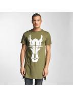 Cavallo de Ferro Long Oversize T-Shirt Olive