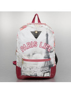 Cayler & Sons Backpack White Label Paris Life Uptown red