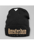 Cayler & Sons Beanie Green Label A-Dam Old School zwart
