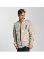 Cayler & Sons Pleated Bomber Jacket Beige