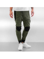 Cayler & Sons joggingbroek Black Label Theo zwart