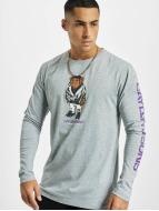 Cayler & Sons Maglietta a manica lunga WL Purple Swag grigio