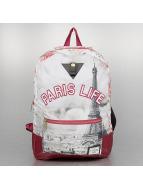 Cayler & Sons Mochila White Label Paris Life Uptown rojo