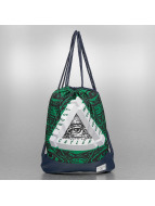 Cayler & Sons Sac à cordons White Label Triangle Of Trust bleu