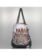 Cayler & Sons Shopper White Label Paris Skyline rood
