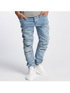 Cayler & Sons Slim Fit Jeans ALLDD Paneled Inverted Biker blu