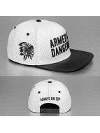 Cayler & Sons Snapback Cap Black Label Armed N' Dangerous bianco