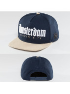 Cayler & Sons Snapback Cap Amsterdam blau