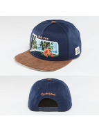 Cayler & Sons snapback cap Greetings From Hawai blauw