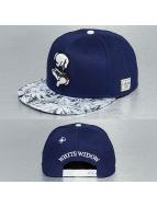 Cayler & Sons Snapback Cap White Widow blu