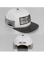 Cayler & Sons Snapback Cap White Label Eyes On Me grau