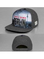 Cayler & Sons Snapback Cap White Label Berlin Skyline grau