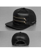 Cayler & Sons Snapback Cap Black Label Zipped nero