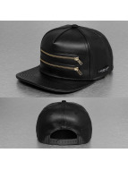 Cayler & Sons Snapback Cap Black Label Zipped schwarz