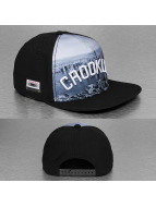 Cayler & Sons Snapback Cap White Label Crooklyn Skyline schwarz