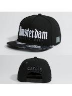 Cayler & Sons Snapback Cap WL Amsterdam schwarz