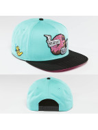 Cayler & Sons Snapback Cap Munchie Madness turquoise