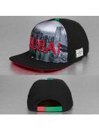 Cayler & Sons Snapback Caps White Label Dubai Skyline musta