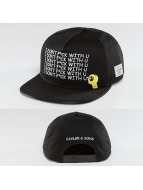 Cayler & Sons Snapback Caps Black Board musta