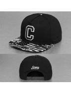 Cayler & Sons Snapback Caps Label Cee Flagged svart