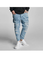 Cayler & Sons Straight fit jeans Raw blauw