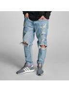 Cayler & Sons Straight Fit Jeans destroyed mavi