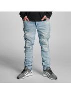 Cayler & Sons Straight Fit Jeans Pad mavi