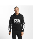 Cayler & Sons Sweat capuche CSBL First Devision Half Zip noir