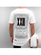 Cayler & Sons T-shirt Black Label Bumrush Long bianco