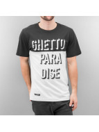 Cayler & Sons T-Shirt Ghetto Paradise blanc