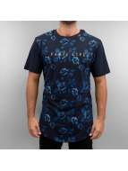 Cayler & Sons T-shirt White Label Paris Life Scallop blu