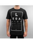 Cayler & Sons T-Shirt Green Label Legaleyez noir