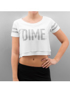 Cayler & Sons T-Shirty BL Dime Mesh Overlay Crop bialy